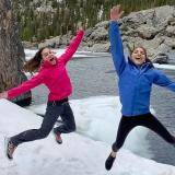 Brooke Raboutou e Natalia Grossman - Rocky Mountain National Park - Foto © video screenshot